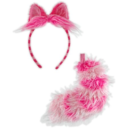 Alice in Wonderland - Cheshire Cat Accessory Set (Adult) - One-Size - Alice In Wonderland Costume Spirit Halloween