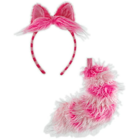 Alice in Wonderland - Cheshire Cat Accessory Set (Adult) - One-Size - Adult Cartoon Cat