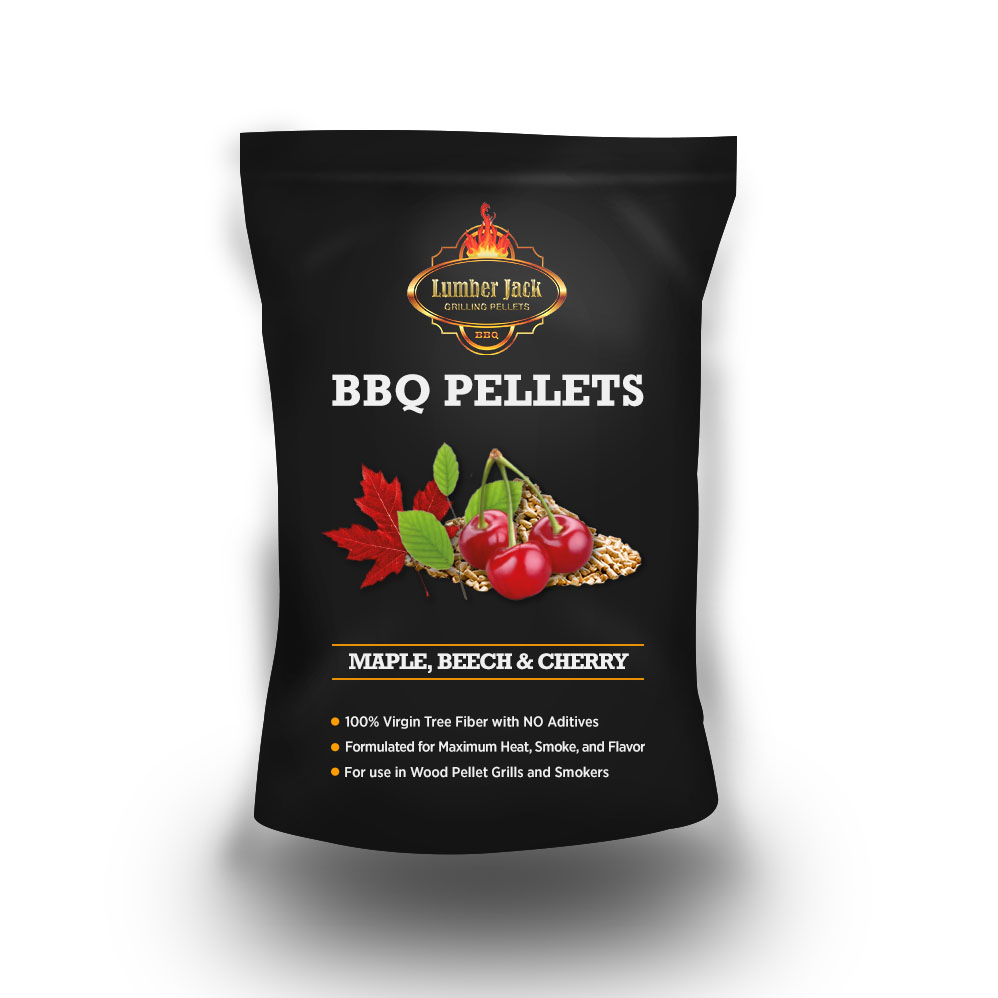 Lumber Jack Maple-Beech-Cherry - Sweetwood Blend BBQ Grilling Pellets