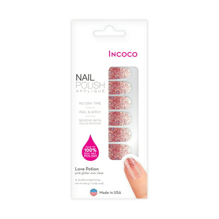 Incoco Nail Polish Applique, Love Potion - Nail Wraps Halloween