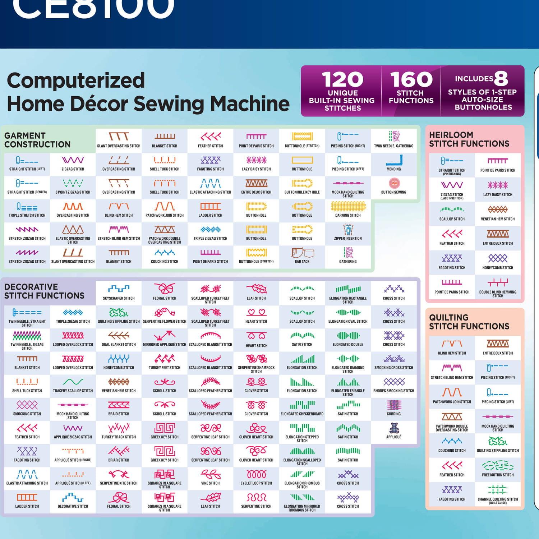 ce8100 sewing machine