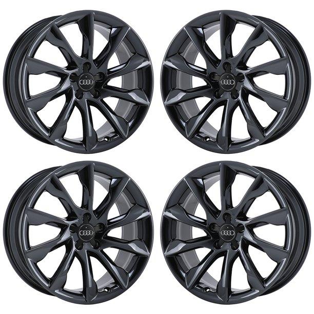 Audi A5 2013 2018 Pvd Black Chrome Factory Oem Wheels Rims Not Replicas H Walmart Com Walmart Com