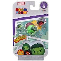 Marvel Tsum Tsum Series 6 She-Hulk, Hulk & Red She-Hulk Minifigure 3-Pack