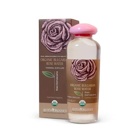 Distilled Rosewater (Alteya Organics Rose Water - USDA Certified Organic 8.5fl.oz./250ml. )