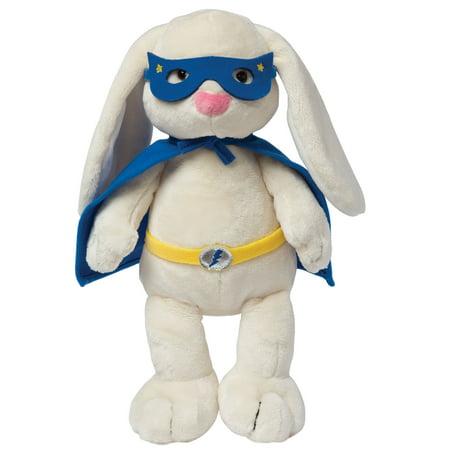 """Manhattan Toy Superhero Bunny 12"""" Plush Toy"""