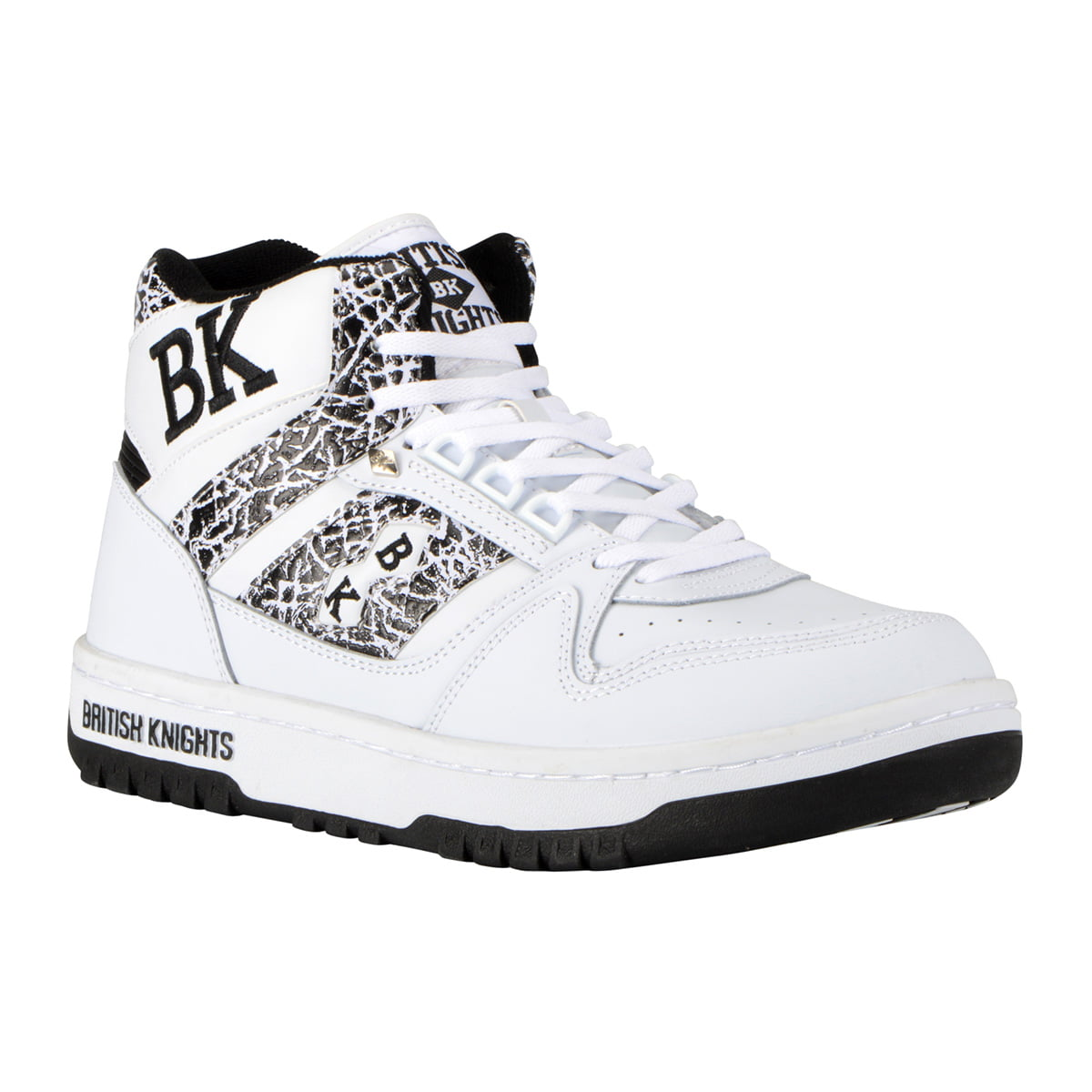 British Knights Schuhe. Good Kings Sl Blackwhite With