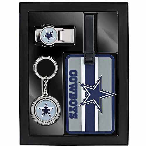 Aminco Sports 3-Piece Travel Fan Pack, Cowboys