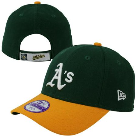 Oakland Athletics New Era Youth The League 9Forty Adjustable Hat - Green - No Size