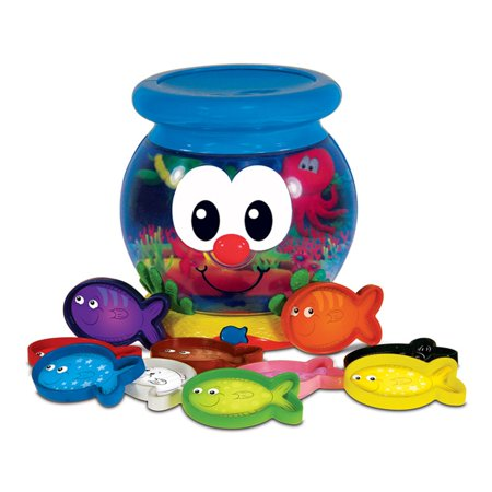 The Learning Journey Learn with Me, Color Fun Fish - Learning Toys For 1 Year Old Boy