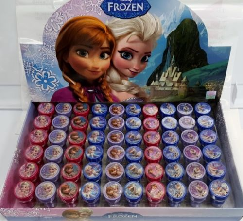 60 PCS Disney Frozen Anna & Elsa Stampers Stamps birthday Party Goody Favor New
