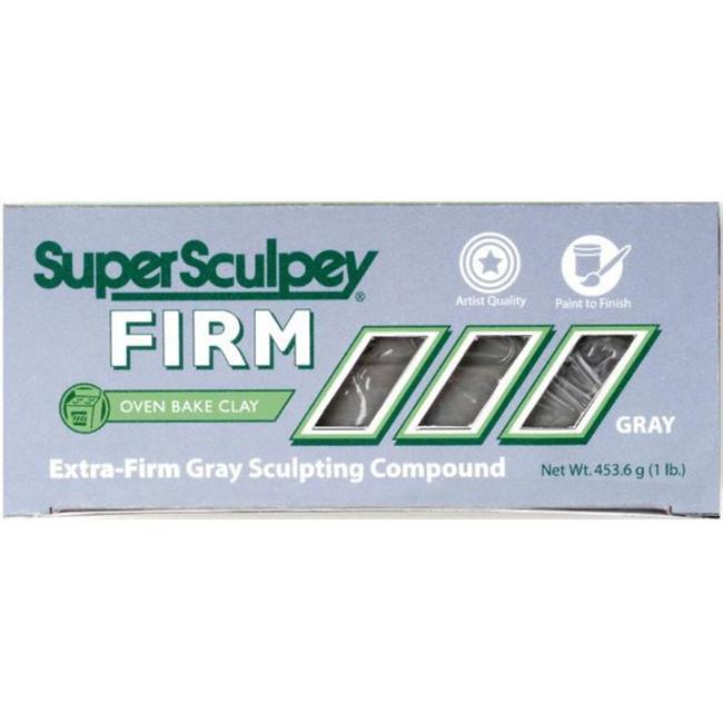 Alvin SS1SCULPT Super Sculpey Firm Gray