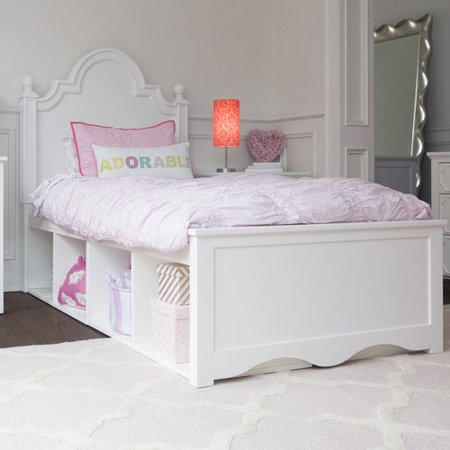 Craft kids furniture adelaide twin panel bed with storage for Kids craft bed