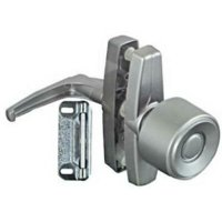 2 PK National Aluminum Knob Latch For Wood Or Metal Screen & Storm Doors