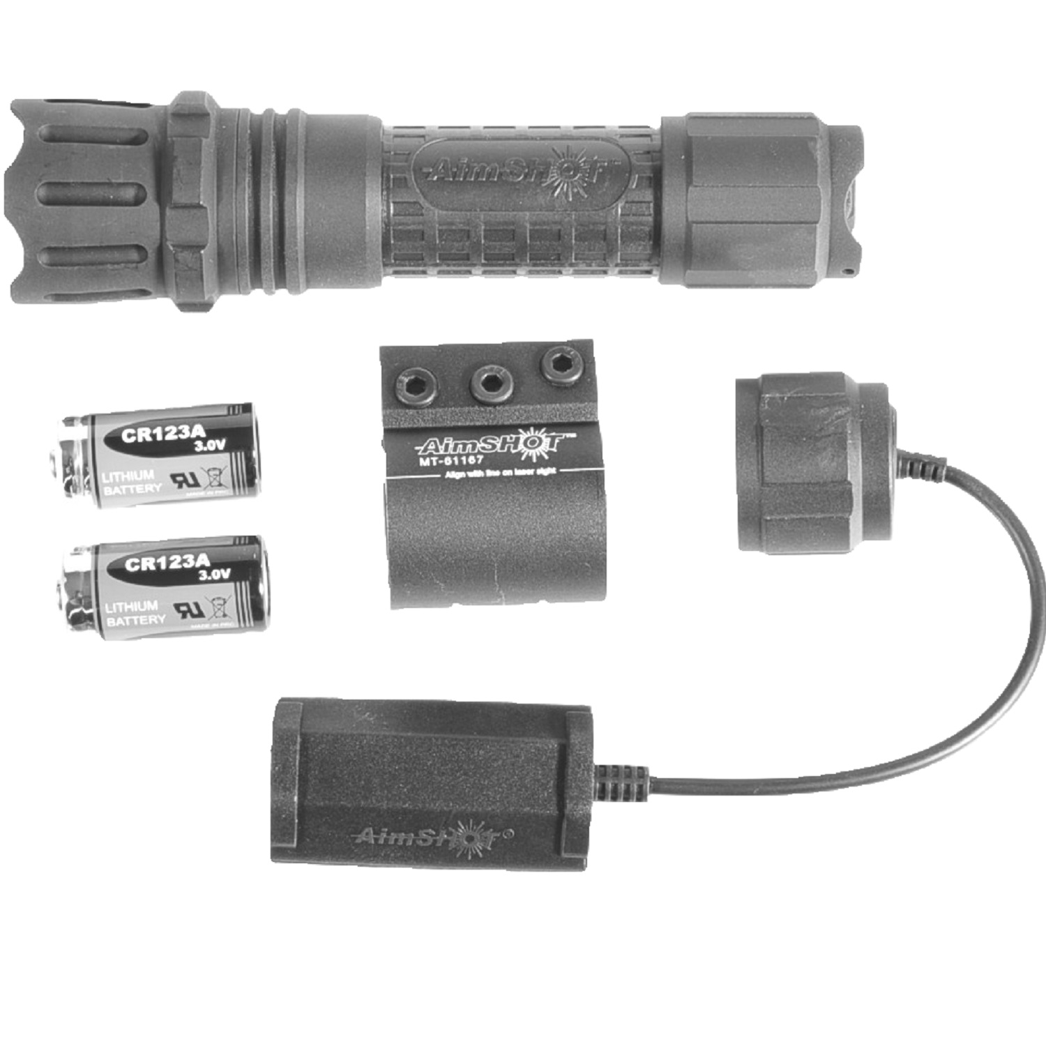 AimSHOT 250 Lumen Cree LED Flashlight Kit with Mount TX850