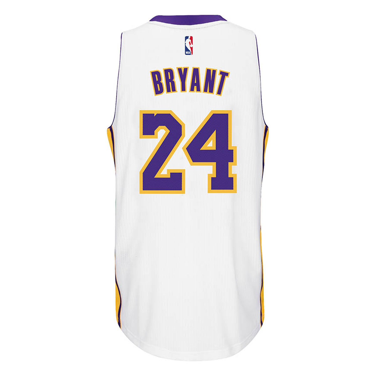 Los Angeles Lakers Adidas NBA Kobe Bryant #24 Alternate S...