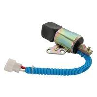 DB Electrical FSS0003 Shut Down Solenoid for 12V kubota Various 17520-60013, 1756ES-12SUC5B1S5, SA-5176-12