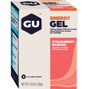 GU Energy Gel: Strawberry/Banana Box of 8