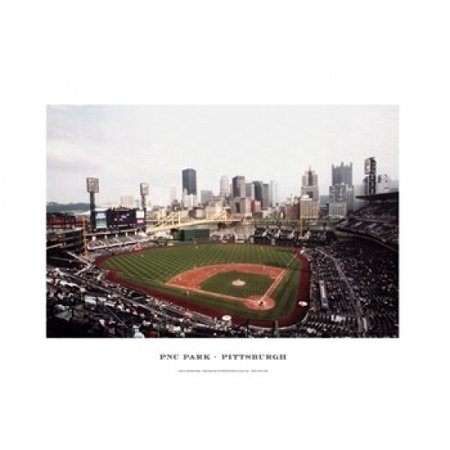 PNC Park Pittsburgh Poster Print by Ira Rosen (19 x 13)