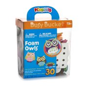 Darice Foamies Activity Bucket, Foam Owls, Makes 30