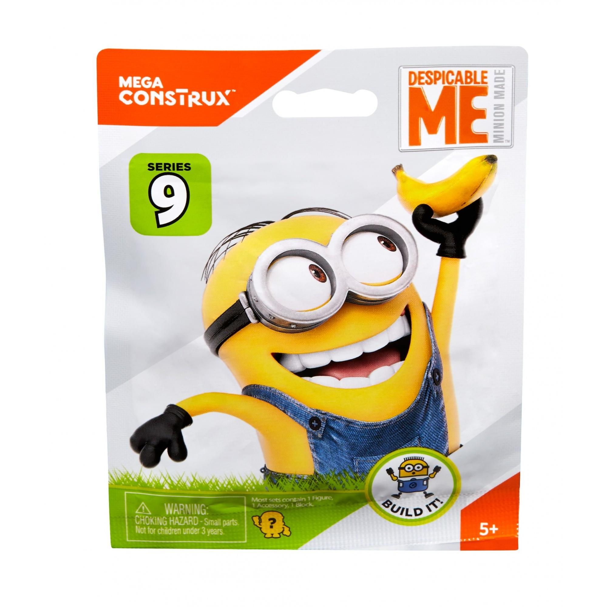 Mega Bloks Despicable Me Series 9 Blind Pack Moto Plan by Mega Bloks
