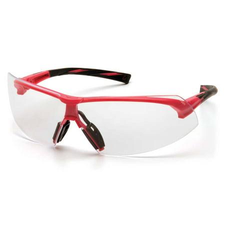Pink Frame/Clear Lens (Glasses Frames Made In Usa)