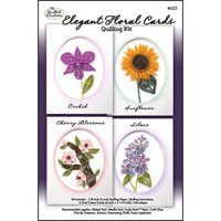 Quilled Creations Paper Quilling Kit - Elegant Floral Cards