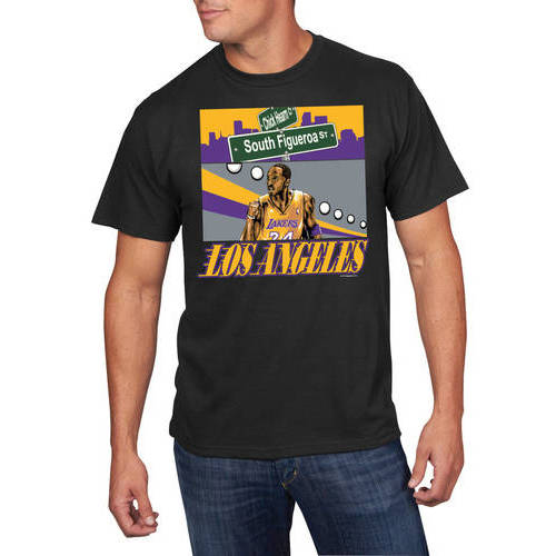 NBA Men's Los Angeles Lakers Kobe Bryant Player Tee