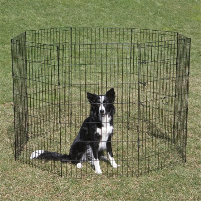 Pet Pals ZW930 24 17 Crate Appeal Ex Pen Sm Black