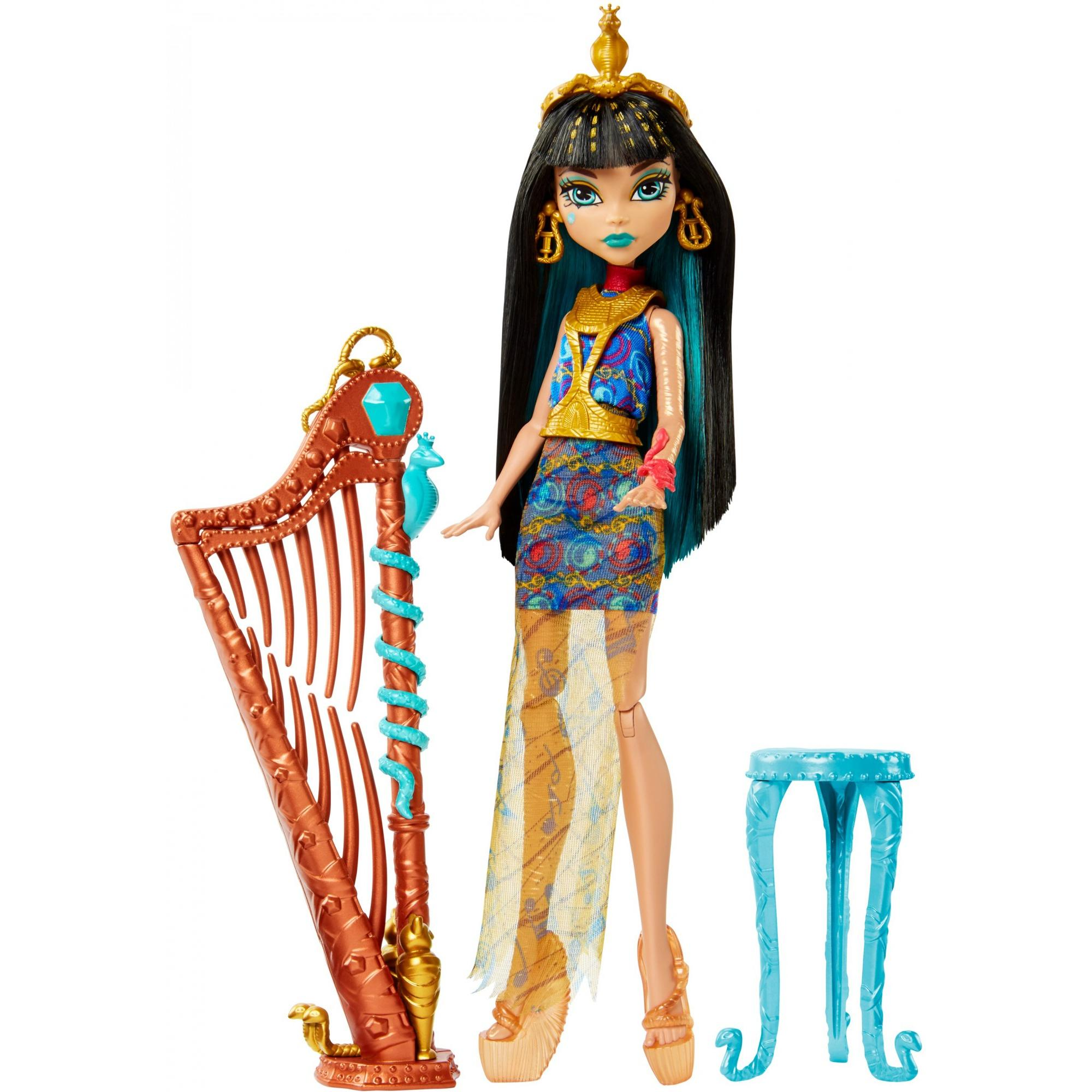 Monster High Music Class Cleo De Nile Doll & Accessory