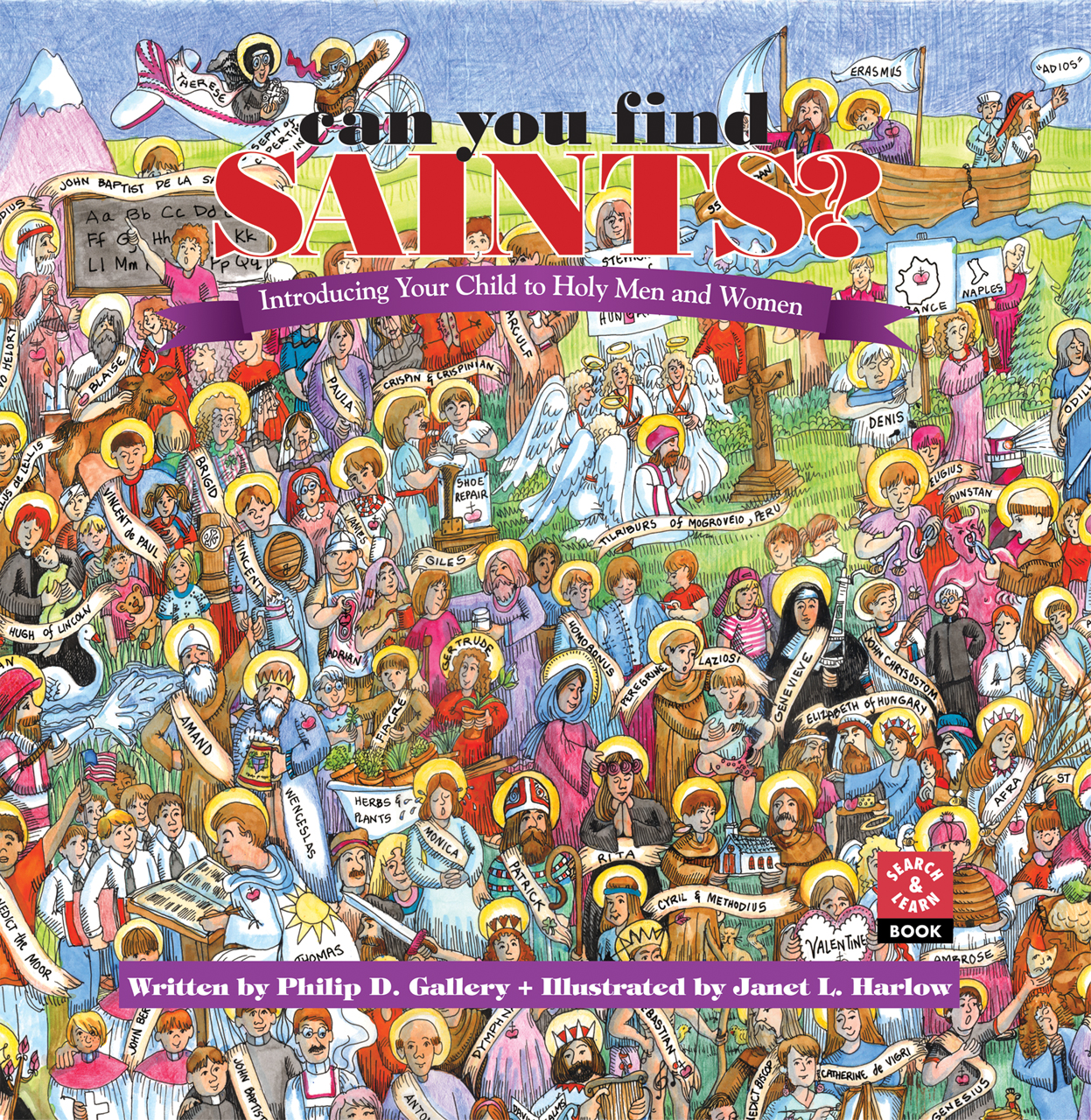 Can You Find Saints?: Introducing Your Child to Holy Men and Women (Hardcover)