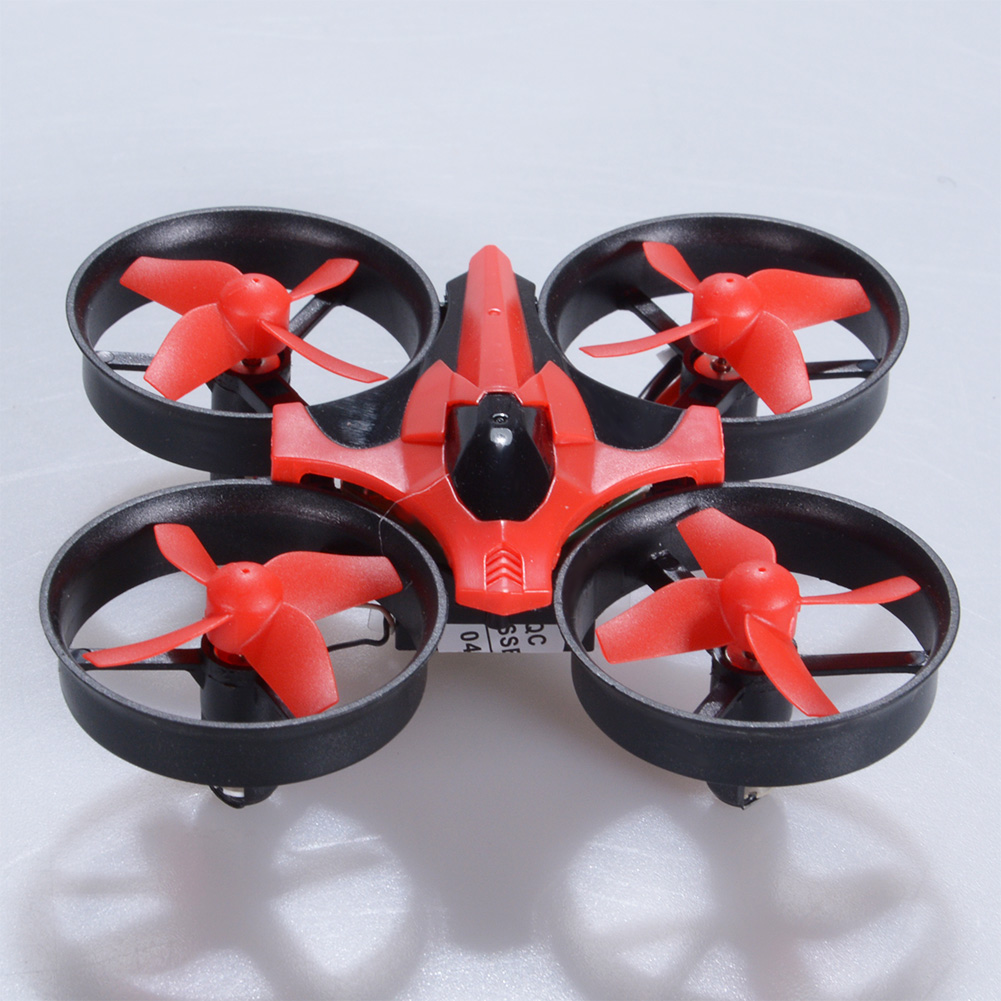 NIHUI NH010 Mini Drone 2.4G 6-Axis Gyro Headless Mode Remote Control Quadcopter (Red) - image 7 of 7