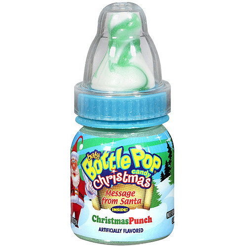 Baby Bottle Pop Christmas Punch Candy, 1.1 oz