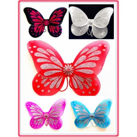 Fantasy Butterfly Fairy Wings Tinkerbell Dress Up Costume 18