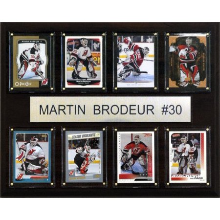 Nhl Martin Brodeur New Jersey Devils 8 Card Plaque Walmart Canada