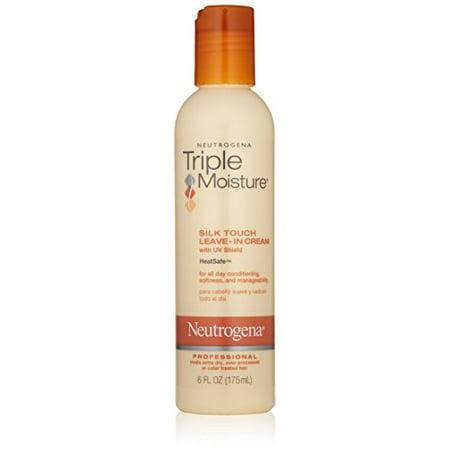 Neutrogena Triple Moisture Silk Touch Leave-in Cream 6 oz (Triple Moisture Silk Touch Leave In Review)