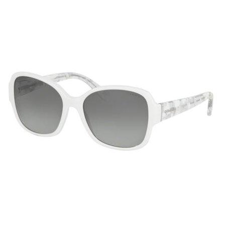 a43605942a Coach - COACH Sunglasses HC 8166 536011 White White Crystal Mosaic 58MM -  Walmart.com