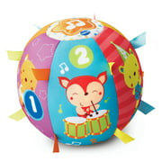 VTech Lil' Critters Roll and Discover Ball, Soft Plush Ball for Baby