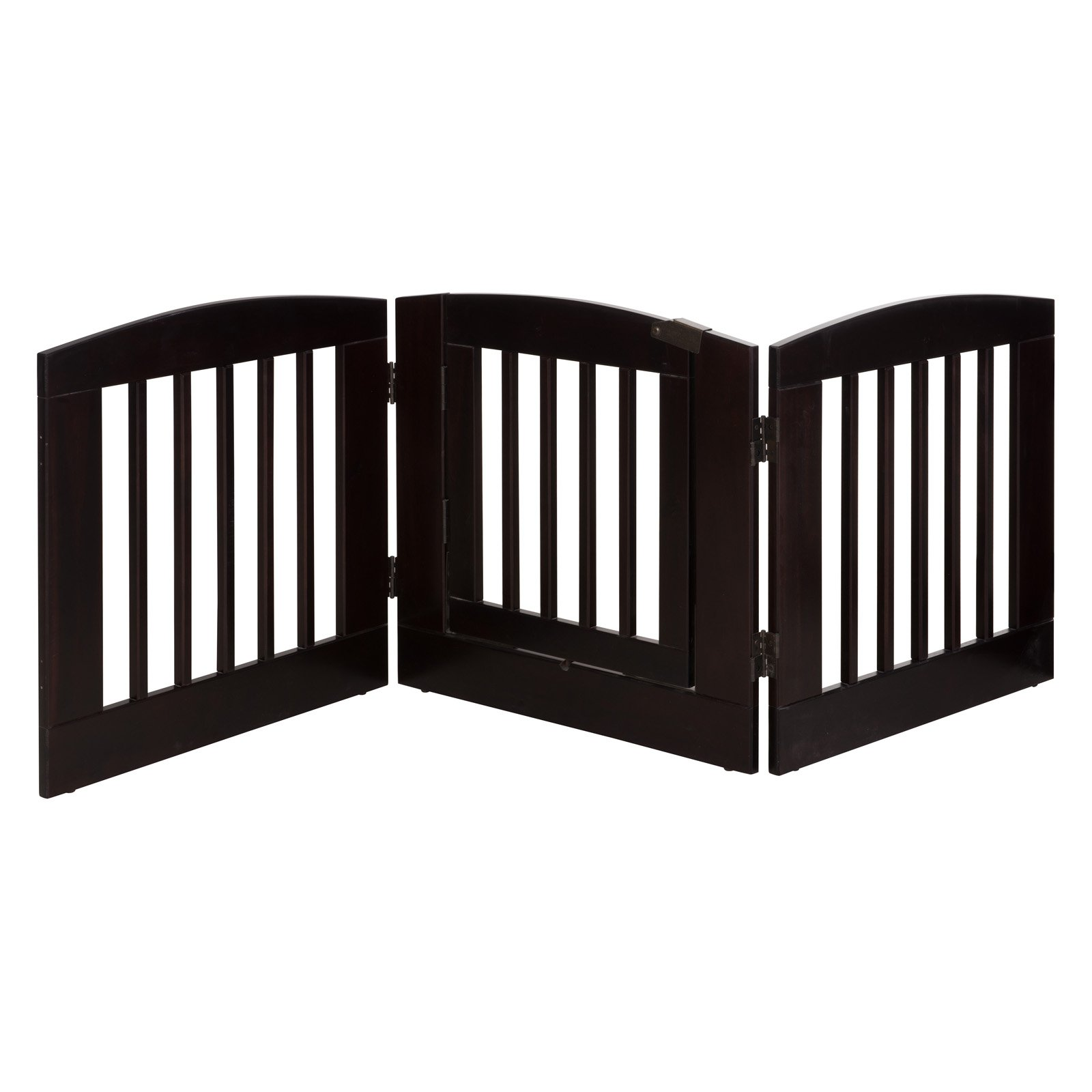 Ruffluv 3 Panel Expansion Pet Gate with Door