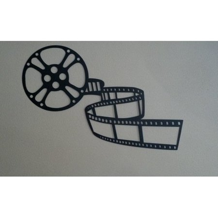 Say It All On The Wall Movie Reel And Film Home Theater Metal Wall D Cor