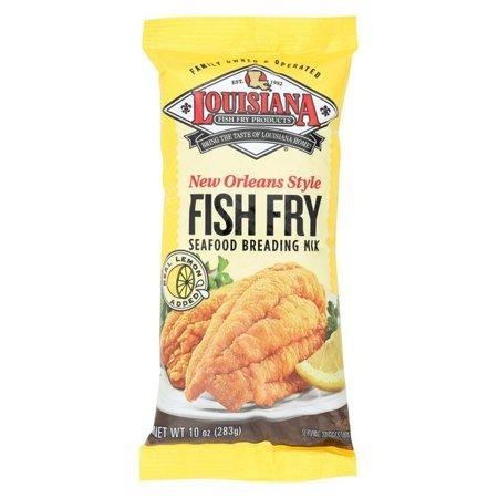 La Fish Fry New Orleans Style - Lemon - Pack of 12 - 10