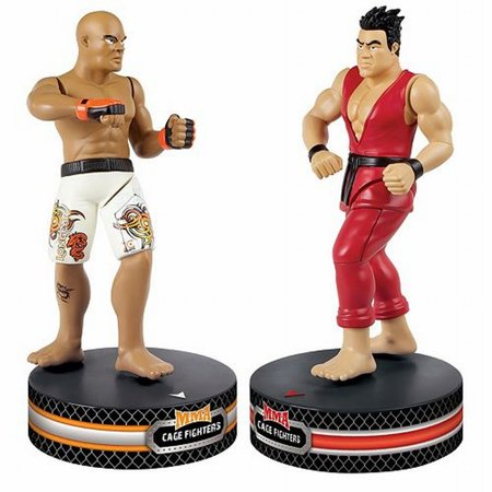 Cage Fighter Mma - The Black Series MMA Cage Fighters With Radio Control Spinning Action R/C Kicks
