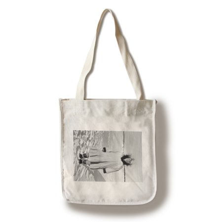 Eskimo Woman portrait in Alaska Photograph (100% Cotton Tote Bag - Reusable) - Pretty Eskimo Women