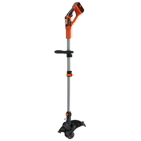 Edging String Trimmer (BLACK+DECKER LST136 40V MAX* Lithium High Performance String Trimmer with Power Command )