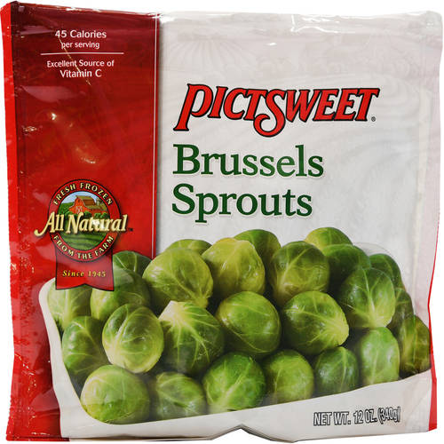 Pictsweet All Natural Brussels Sprouts, 12 oz