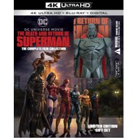 The Death And Return Of Superman: The Complete Film Collection Giftset (4K Ultra HD + Blu-ray + Digital Copy)