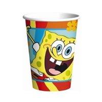 Cups - Spongebob - 9oz Paper - 8ct