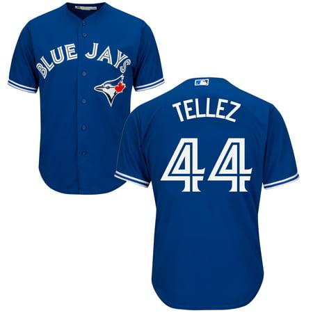 Men's Rowdy Tellez Toronto Blue Jays MLB Cool Base Replica Away Jersey - image 2 de 2