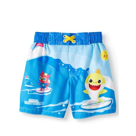 bf6980be71 Pinkfong - Swim Trunk Board Shorts (Baby Boys) - Walmart.com