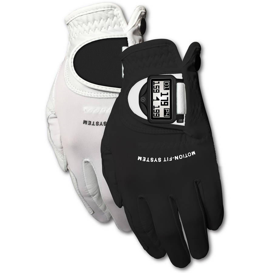 Zero Friction Mens Motion Fit GPS Golf Glove Pair, LH