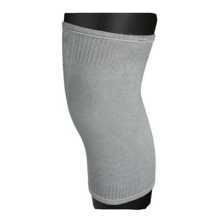 Unisexe doux rotatif Compression kniecap réglable genou Pads, gris - image 5 de 5
